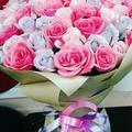 Роза крупная со склада. Доставка Москва
